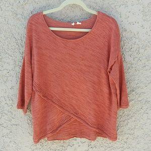 Moth Overlap Sweater